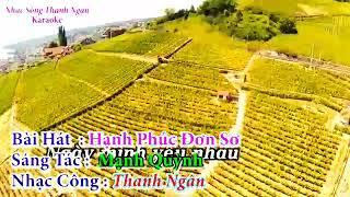 [ Karaoke ] Hạnh phúc đơn sơ   Beat chuẩn HD Thanh Ngân /mp3.