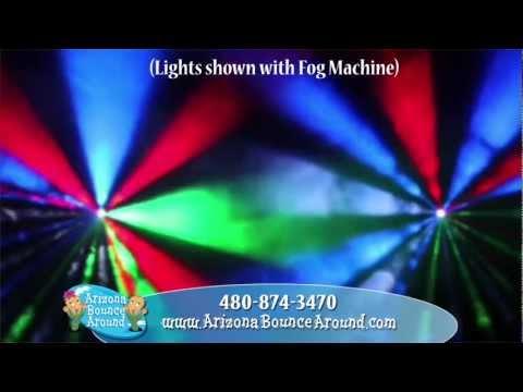 Dance party light rentals, Dance floor lights for rent in Phoenix AZ