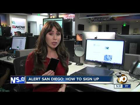 Alert San Diego: How To Sign Up
