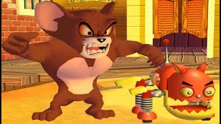 Tom and Jerry War of the Whiskers - Unfurgiven - Monster Jerry and Robocat Teeam - Cartoon Games HD