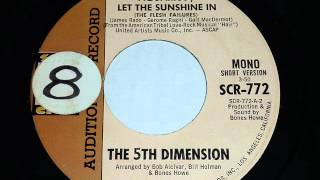 Fifth Dimension - Aquarius-Let The Sunshine In (short MONO version 3:50) Promo copy