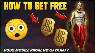 GET PERMANENT INDIAN WARRIOR SET & FREE 300 RP POINT IN PUBG MOBILE !! PUBG PAGAL HO GAYA HAI