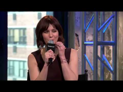 mary in the interview on the studio AOL BUILD