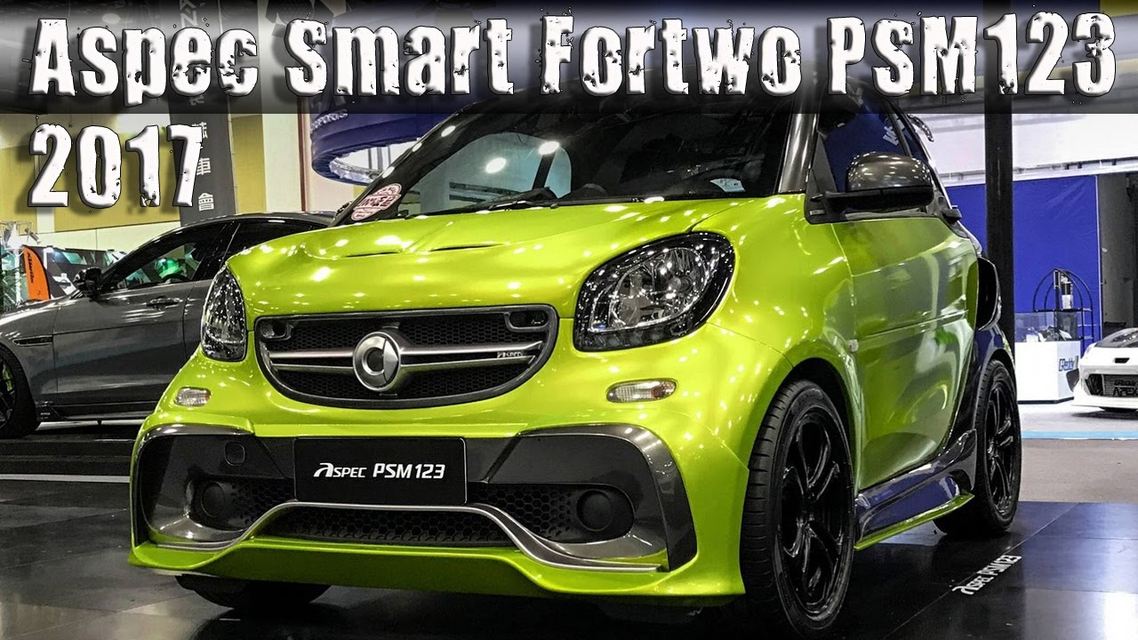 2017 aspec smart fortwo psm123 tuning package youtube. Black Bedroom Furniture Sets. Home Design Ideas
