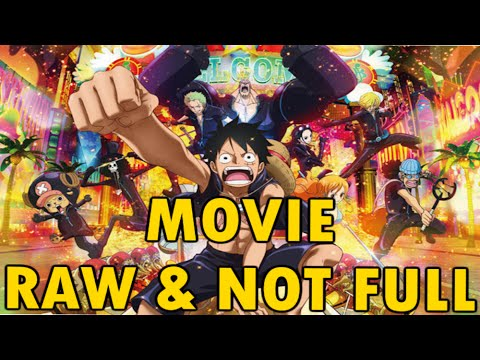 One Piece Film Gold Raw Not Full