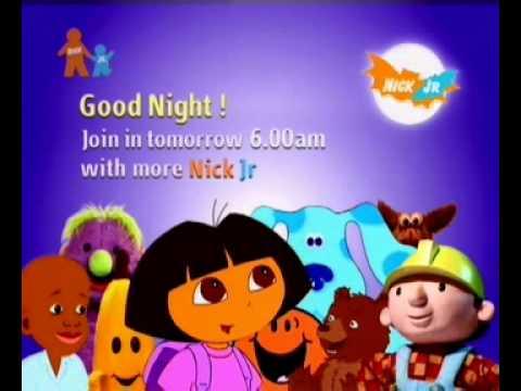 Nick Jr Uk Closedown 2004 Youtube