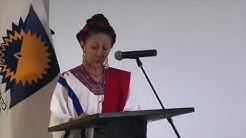 Reconocimiento a Maestra Susana Reyes por parte del Parlamento Andino