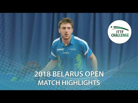 Adam Brat vs Joe Seyfried | 2018 ITTF Challenge Belarus Open Highlights (Group)