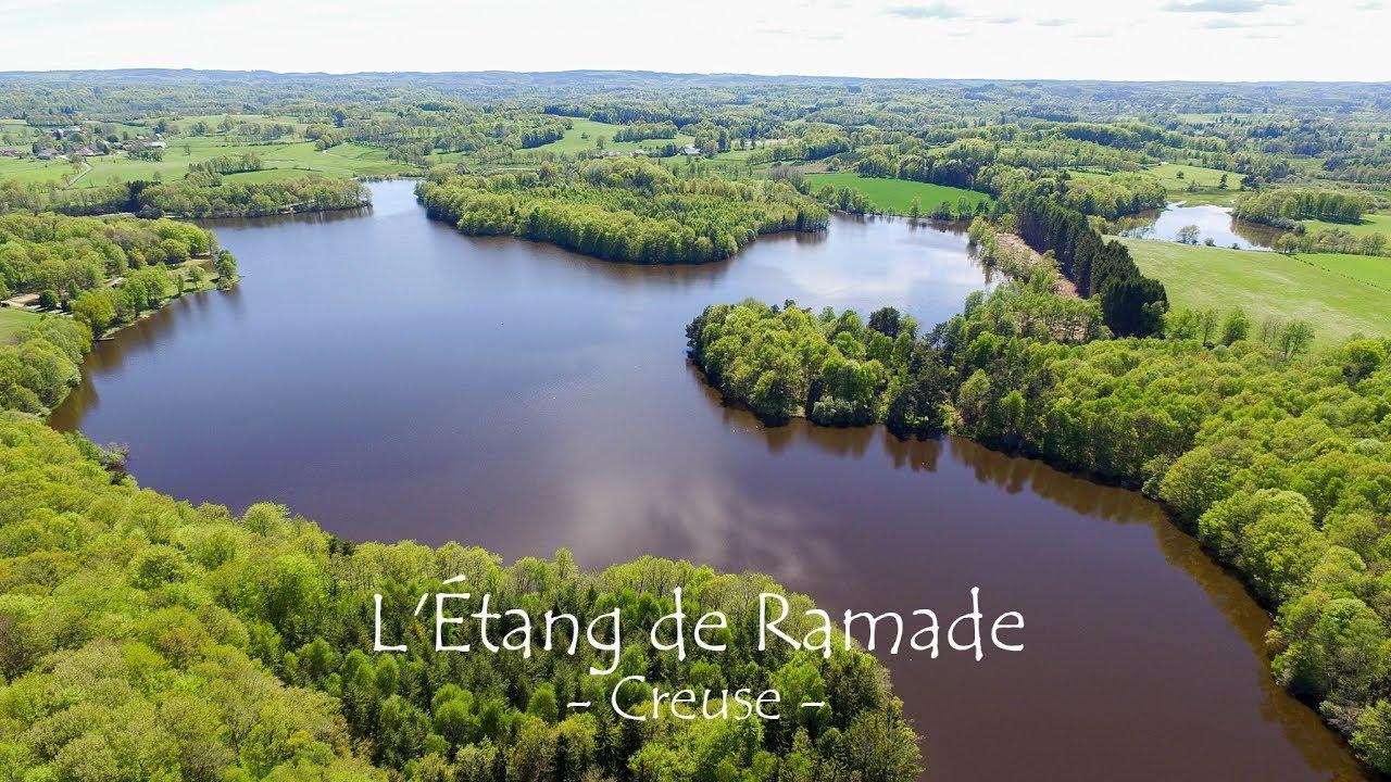 Fcp Drone 4k Etang De Ramade Creuse