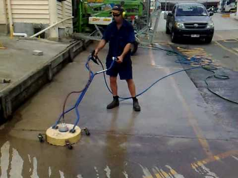 City hire rental diy pressure washer cleaning concrete for Concrete floor cleaning machine rental