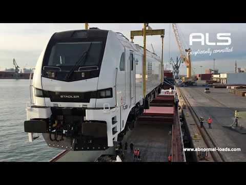 Locomotives moved from Spain