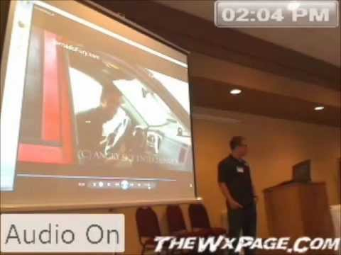 Reed Timmer - 2012 Minnesota Storm Chasing Convention