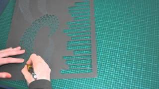 A Paper Cut Time Lapse