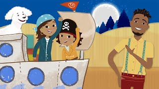 Great Little Ones - The Pirates and Sailors | Kids Videos | Fun Kids Songs videos in ENGLISH