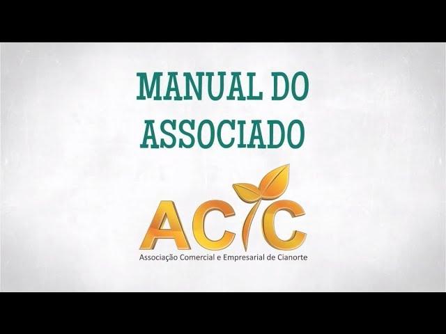 Manual do Associado ACIC