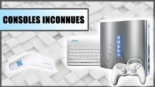 6 CONSOLES DE JEUX INCONNUES ET HALLUCINANTES
