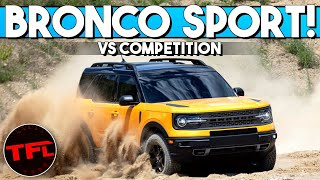 2021 Ford Bronco Sport Debuts - Here Is How It Compares to the Toyota RAV4 and the Jeep Cherokee!
