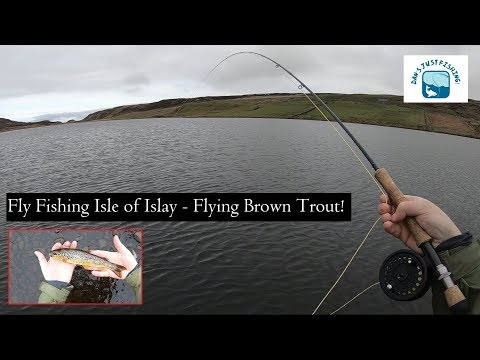 Fly Fishing Isle Of Islay, Scotland - Flying Wild Brown Trout!