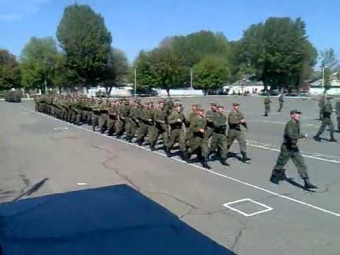 Строевая. Небо славян. 4 рота 102 военная база Гюмри Армения