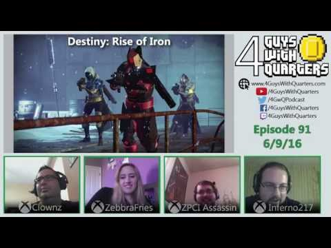 4GwQPodcast Ep91 - Watch_Dogs 2, Destiny Rise of Iron, E3 Predictions!