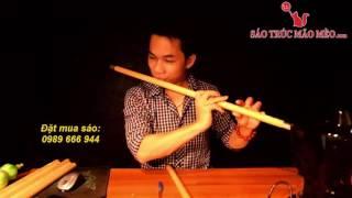 hướng dẫn thổi sáo bài duyên phận - sáo trúc mão mèo