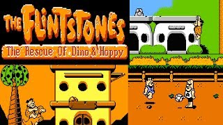 The Flintstones - The Rescue of Dino & Hoppy (NES)