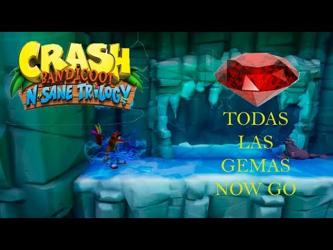 COMO CONSEGUIR LA GEMA ROJA EN SNOW GO CRASH BANDICOOT 2 PS4 TUTORIAL