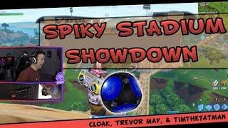 Fortnite - Spiky Stadium Showdown! ft. TimTheTatMan, Trevor May, & Faze Cloak  | DrLupo