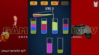 Rót nước   trò chơi phân loại màu screenshot 3