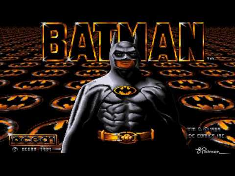Batman The Movie (1989) Amiga Full Walkthrough, FS-UAE ,Ocea