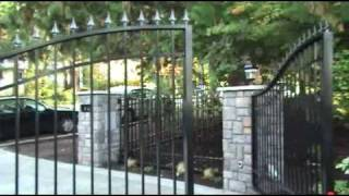 Custom Driveway Gates - Automatic Swing & Sliding Security Gates