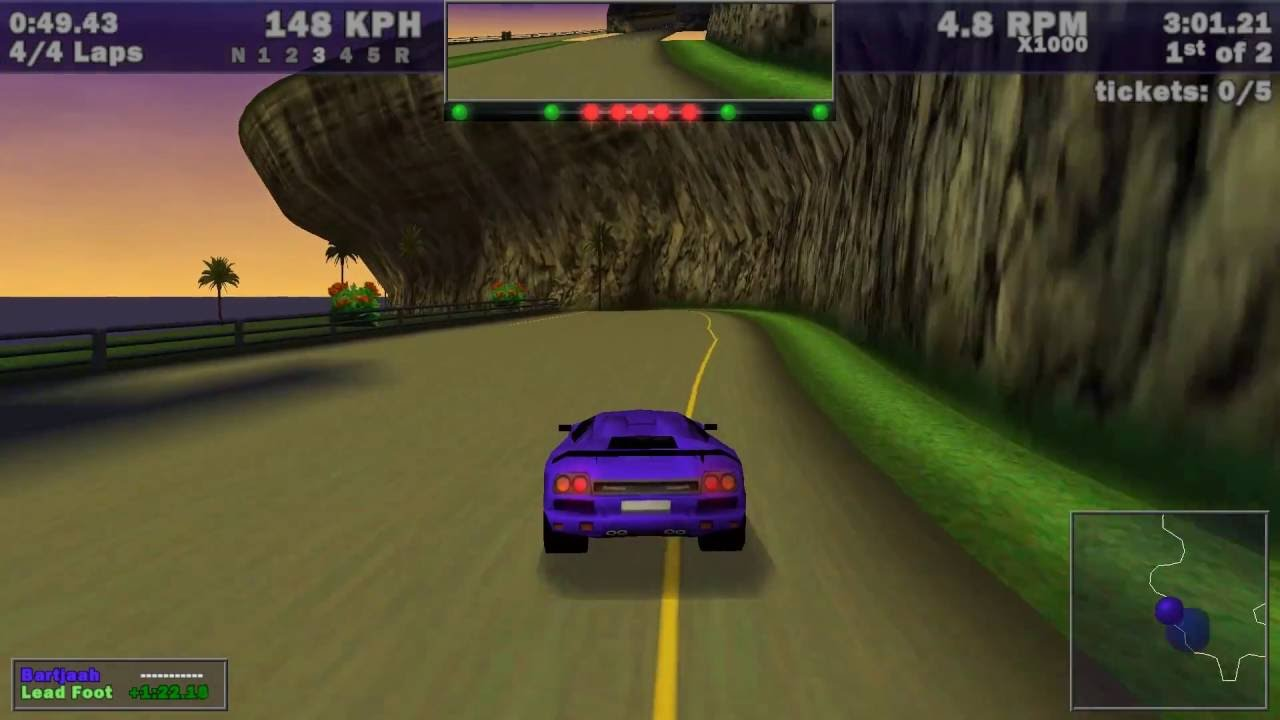 Need For Speed Iii Hot Pursuit Hot Pursuit Aquatica 1998