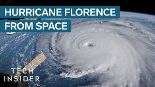 NASA Footage Shows The \'Nightmare\' Hurricane Florence