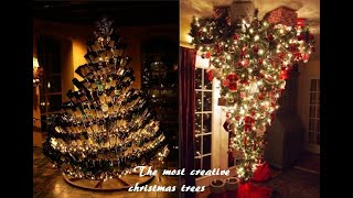 Unusual Christmas Trees Happy New Year and Merry Christmas 2019 2020