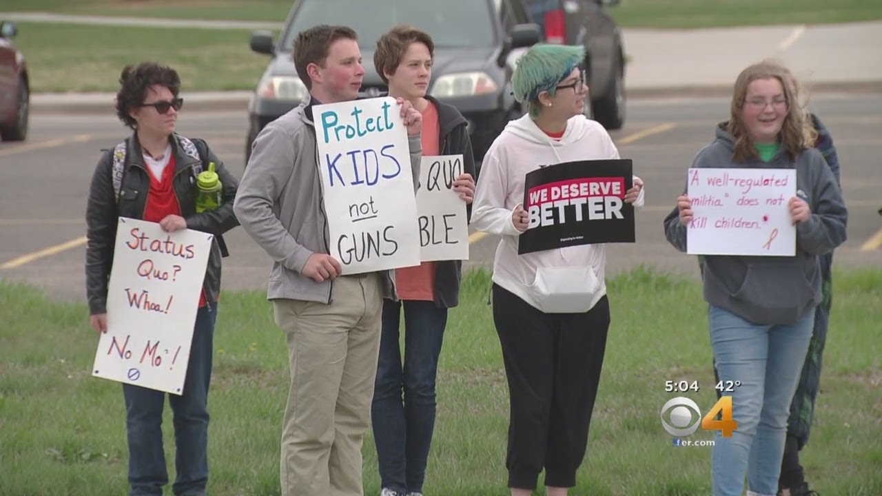 Students Protest Gun Violence, Walk Out Of Class