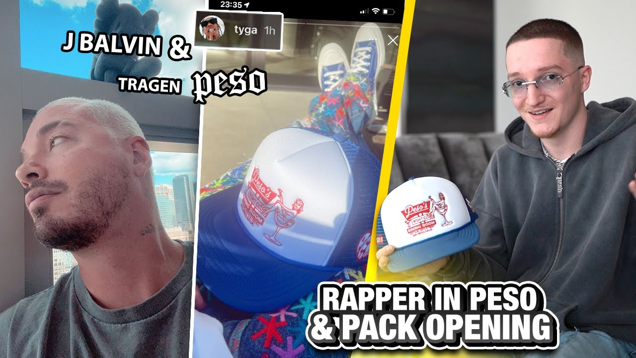 TYGA & JBALVIN in PESO! 🎤 (+ Fashion Pack Opening)