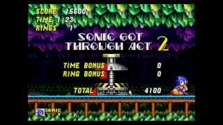 Sonic the Hedgehog 2 - Sonic 2 - Mystic Cave Speed Run - User video