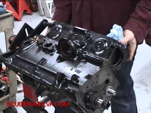 MGB Engine Rebuild Blue Print + Short Block Assemble