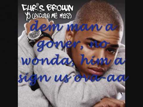 Chris Brown - Brown Skin Girl Video & lyrics on screen