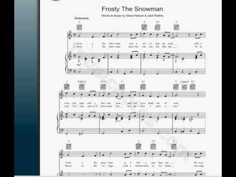 Frosty The Snowman-NOTES! THE MOMMENT YOU BEEN WAITING FOR.-ALL INSTR ...
