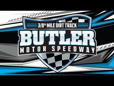 Butler Motor Speedway Street Stock Feature 8/3/19