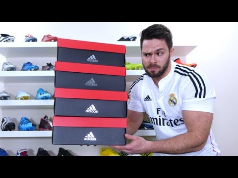 best sell united kingdom for whole family 4 VERY WEIRD AND EXPENSIVE ADIDAS FOOTBALL BOOTS!