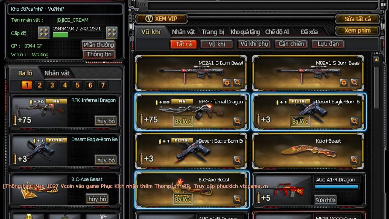 Crossfire ( Chia Sẻ ÁC CF Víp Cộng Đồng )12 Víp AE có thể xem và SKIE LIKE  đăng ký kênh