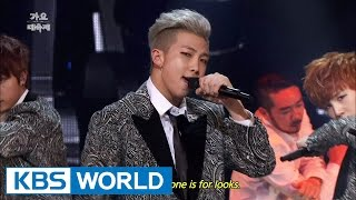 BTS Danger 2014 KBS Song Festival 2015 01 14