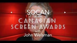SOCAN Interviews John Welsman at the Canadian Screen Awards