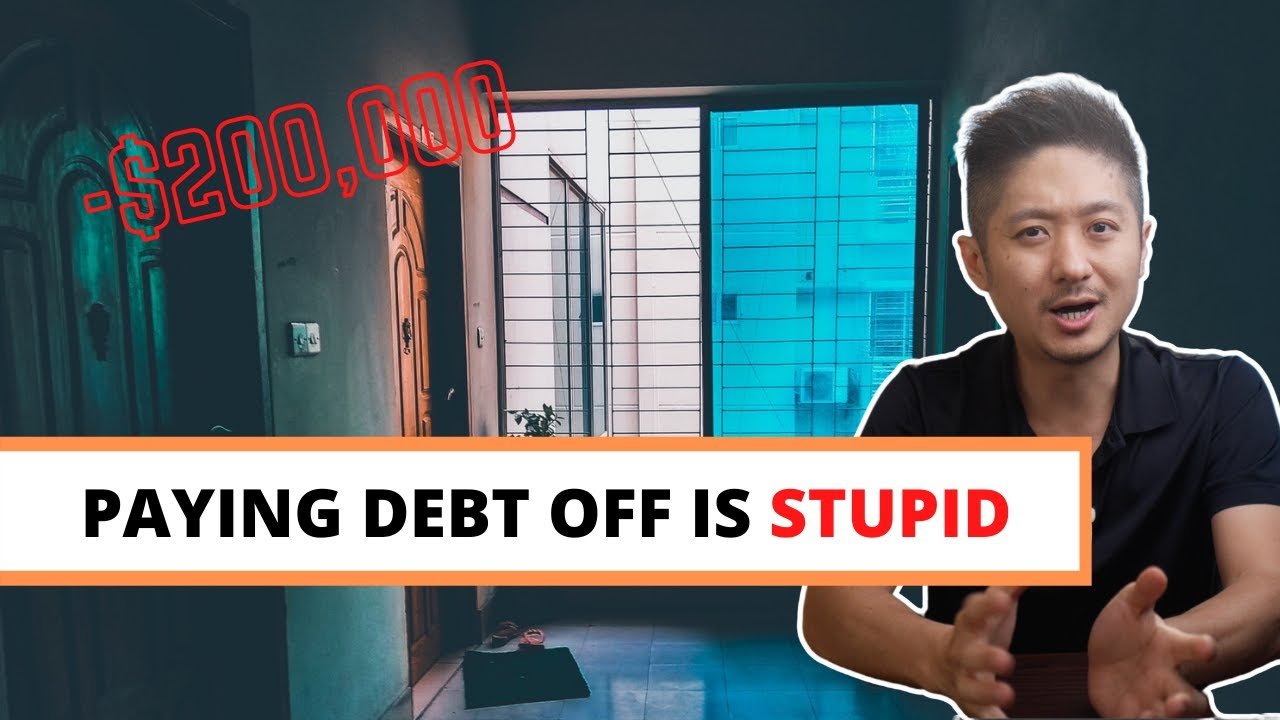 Why Debt free or Paying off debt is stupid