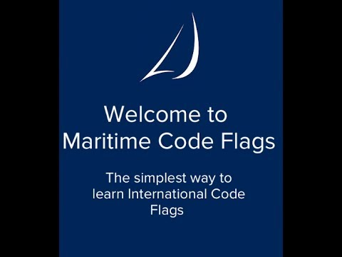 Maritime Code Flags