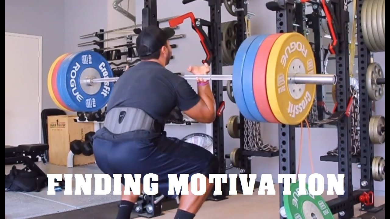Finding motivation garage gym athlete doovi