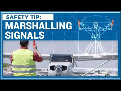 ASI Safety Tip: Marshalling Signals