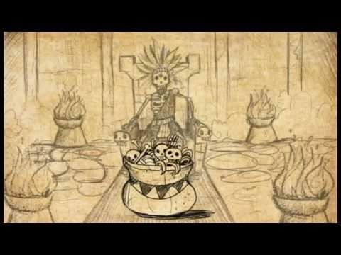 Aztec myth of creation (History of the 5 suns)